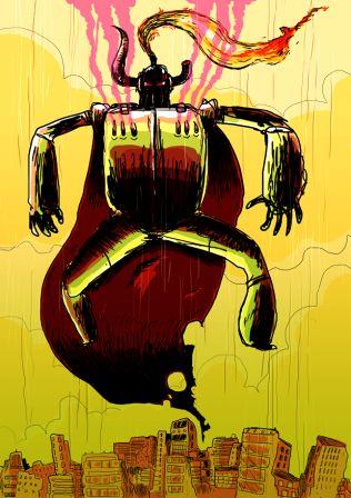 Méga Super Robot De L'Apocalypse De la Terreur Diabolique Suprême