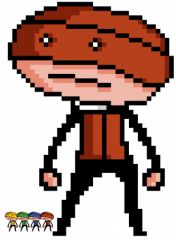 Buster Pixel'd